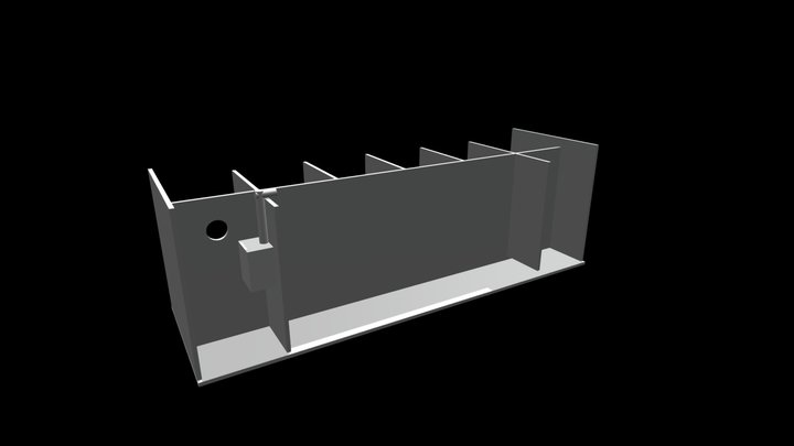 Bettera HexaDrakos for 6 bettas 3D Model