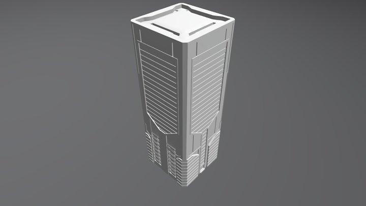 Skyscraper 1 3D Model