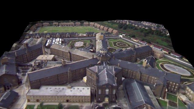 A Clockwork Orange - Prison 3D Model