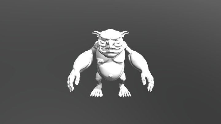 Goblin character 3D Model