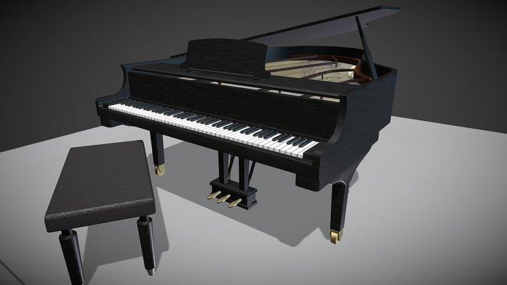 Steinway Piano 3D Model