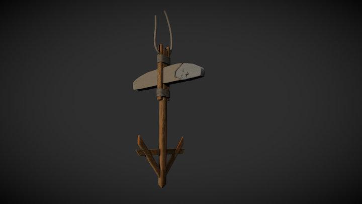 Ancora con iscrizioni in cipriota da Tarquinia 3D Model