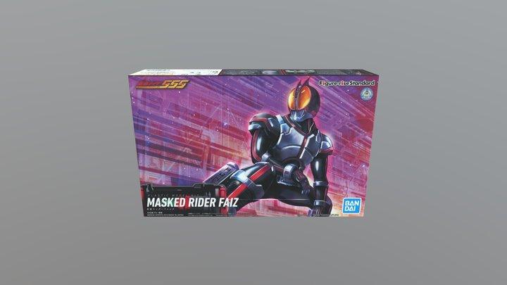 FRS MASKED RIDER FAIZ(555) (2019) BOX 3D Model