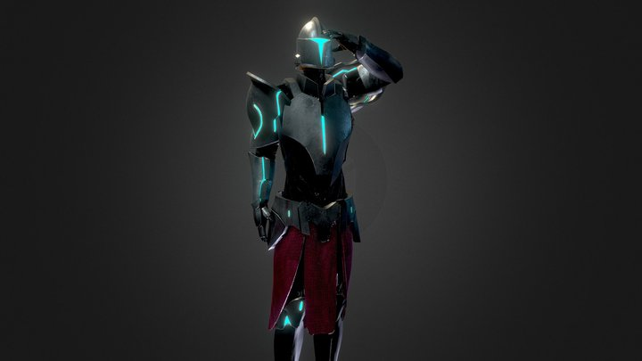 BrutalBeast Warrior 3D Model