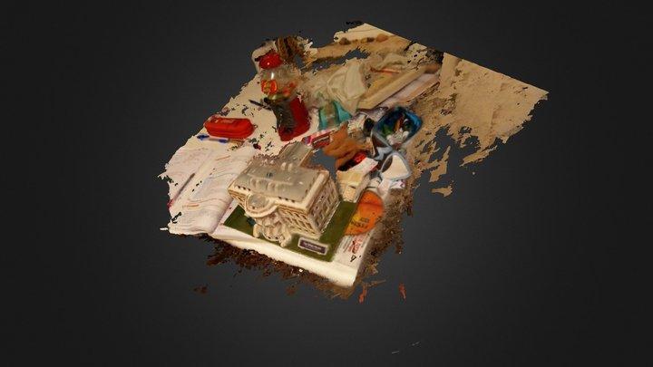 WhiteHouse_onDesk 3D Model