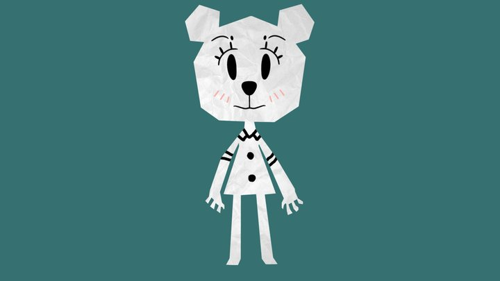 Teri (WIP) (the amazing world of gumball) 3D Model