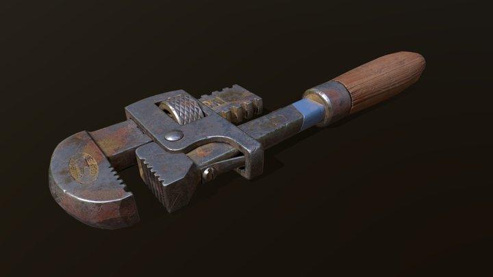DP #2 HW 19 [Wrench texture] 3D Model