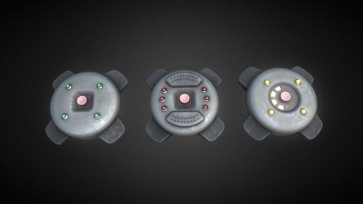 GoldenEye: Source Mines 3D Model