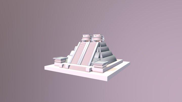 Mexican Pyramid - Mesoamerican Culture 3D Model