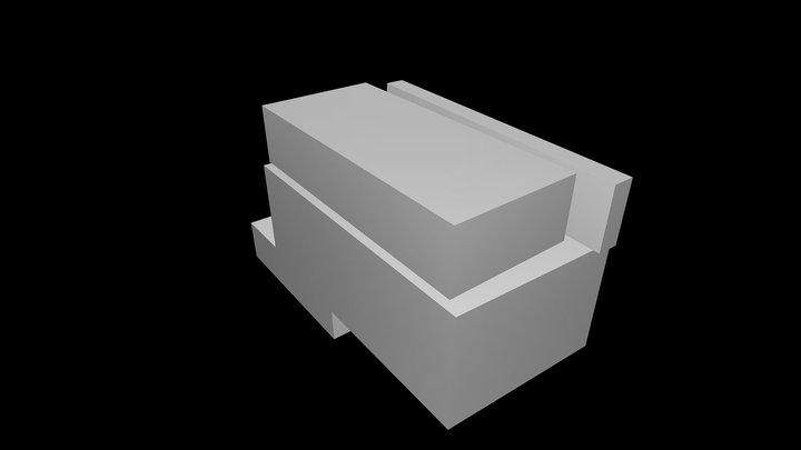 Abrantes Municipal Market - ARX Portugal 3D Model