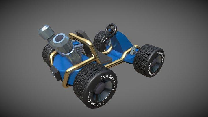 05 12 2019- Kart Crash V4 3D Model