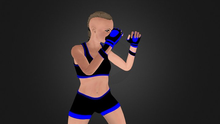 Yara Ysinbayeva 3D Model