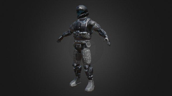 Halo Downfall - ODST Prototype 3D Model