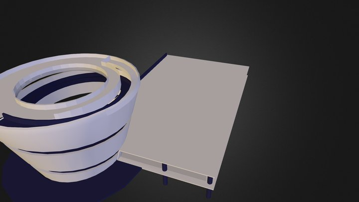 Pabellon 33 35 37 3D Model