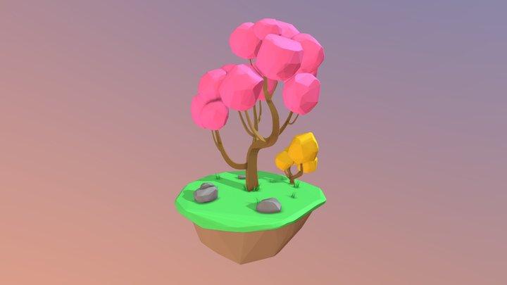 Tree made in VR with TiltBrush 3D Model