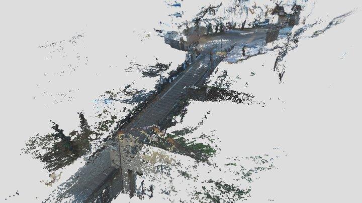 神社(高密度点群) 3D Model