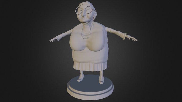 The wandering grand'ma stage2 3D Model