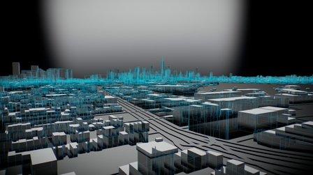 Manhattan island - Metropolis 3D Model