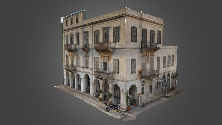 Neoclassical building by Topographers.gr 3D Model