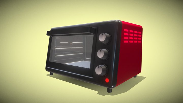 Oven  Microwave 3D Model