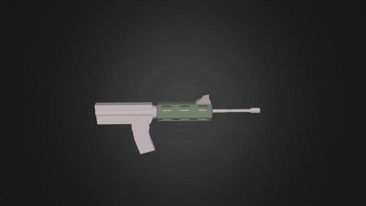 untitled carbine 3D Model