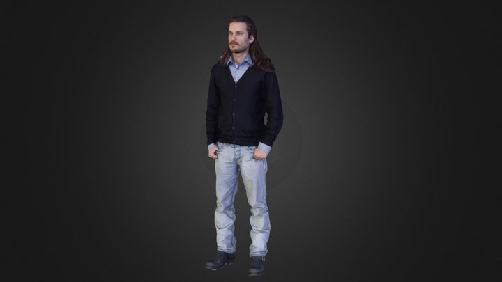 Full Body 3D Scan 3D Model