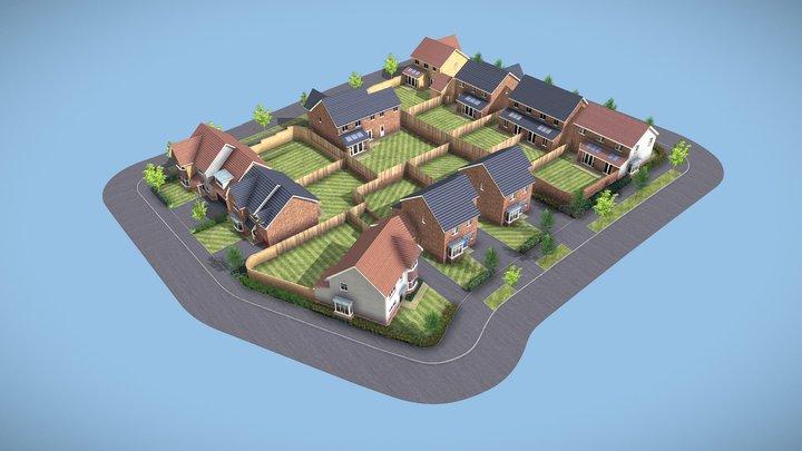 Plot 109 Stratford FCT 3D Model