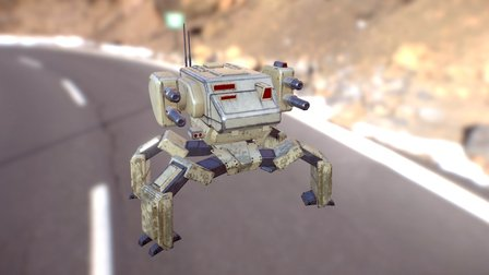Assault unit_wip 3D Model