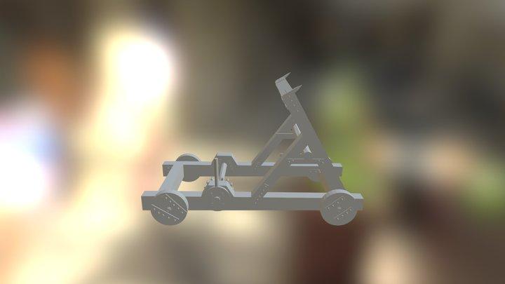 Katapulta 3D Model