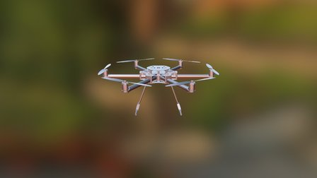 Hexa Kopter 3D Model