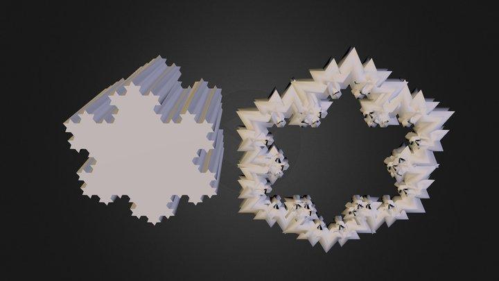 fractal2 3D Model