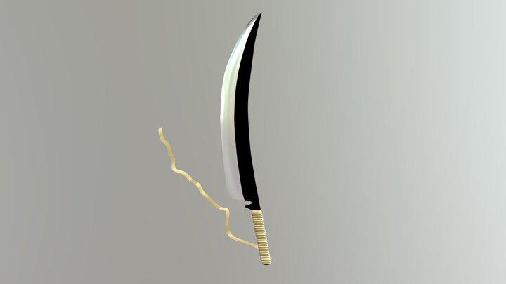 Zangetsu Model (Bleach) 3D Model