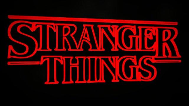 Stranger Things (Vector Logo) 3D Model