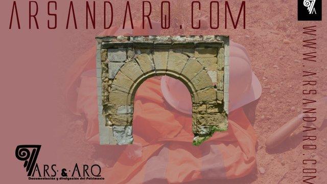 Querencia. Arco  de su iglesia románica 3D Model
