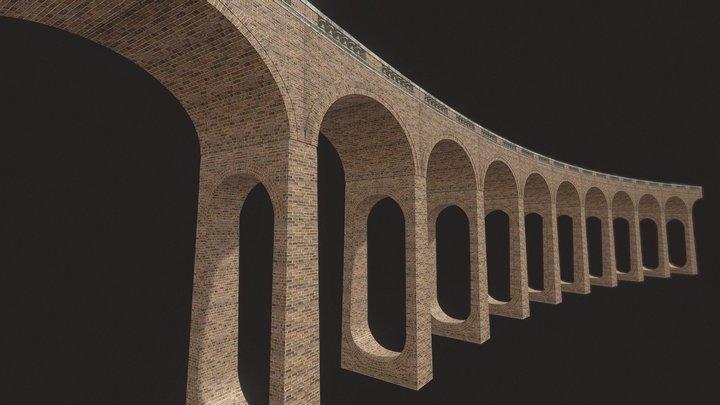 Victorian Viaduct 3D Model