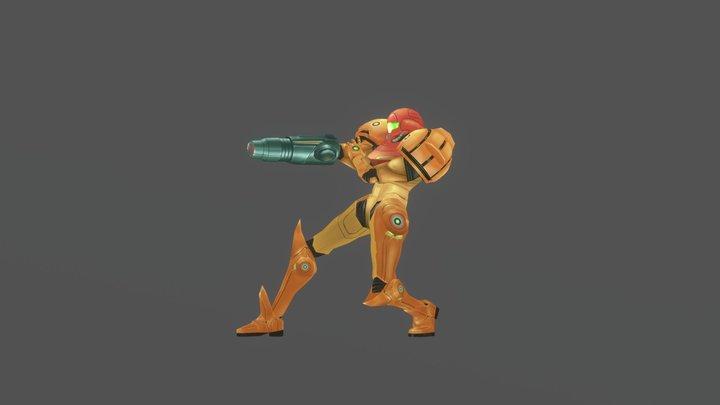 Samus - Metroid Prime 3D Model