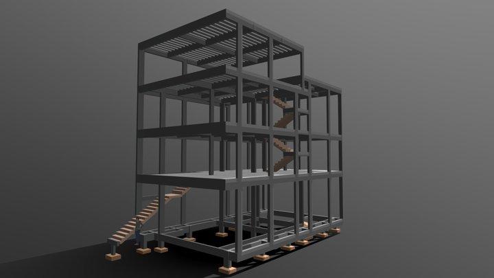 EDIFÍCIO DE USO MISTO 3D Model