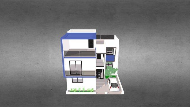 Villa F3 - Residence Salam MBAO 3D Model