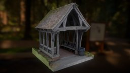 The Lych Gate 3D Model