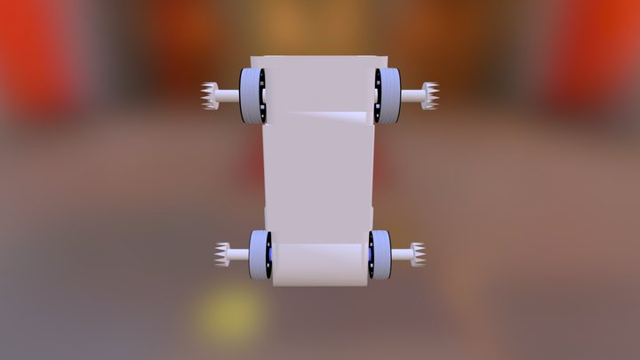 Automoblox Car Assembly With Upgrades 3D Model