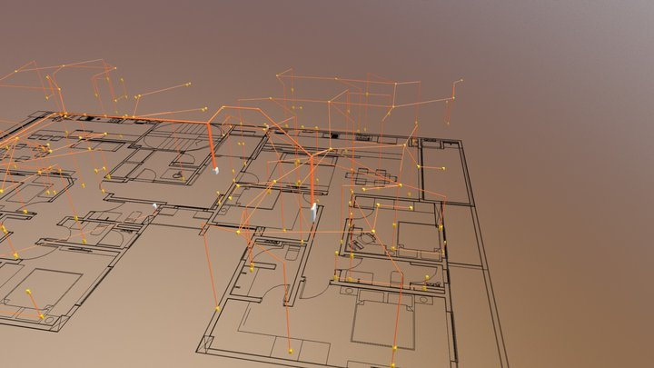 Residencial Multifamiliar 3D Model