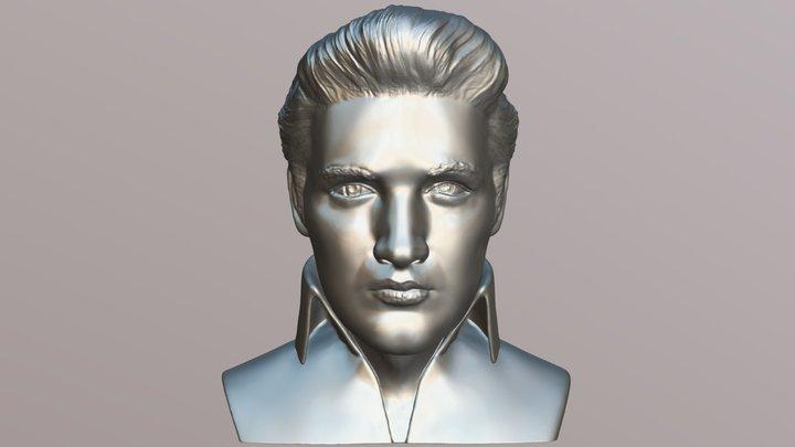 Elvis Presley bust for 3D printing 3D Model