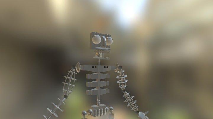 FNaF Endoskeleton (FNaF:EC) 3D Model