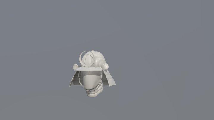 Wrong helmet mess up 3D Model