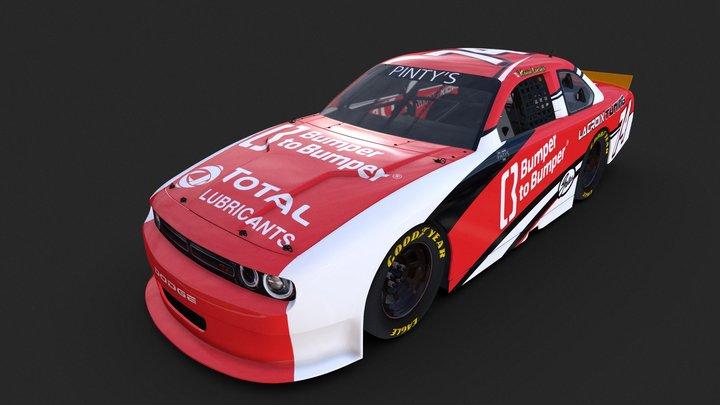 Nascar Dodge_Kevin Lacroix 3D Model