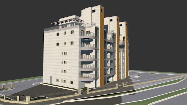 לוי לוסטיג אדריכלים פרוייקט תמא38 בזיכרון יעקב 3D Model