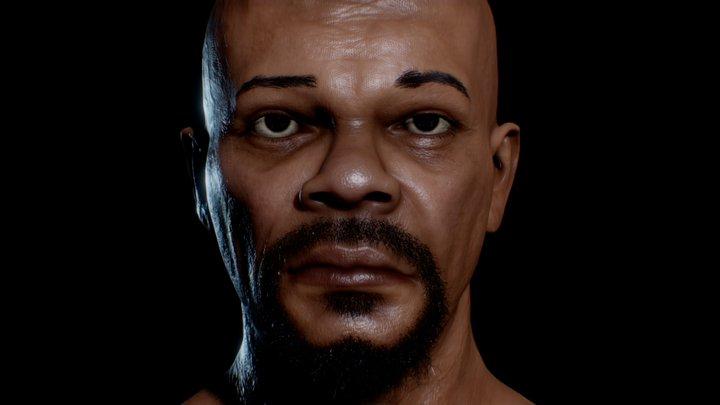 Samuel L. Jackson 3D Model 3D Model