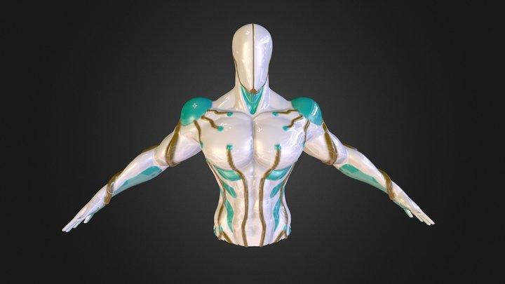 Warframe Prototype 3D Model