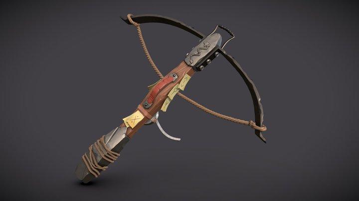 Cranequin Crossbow 3D Model