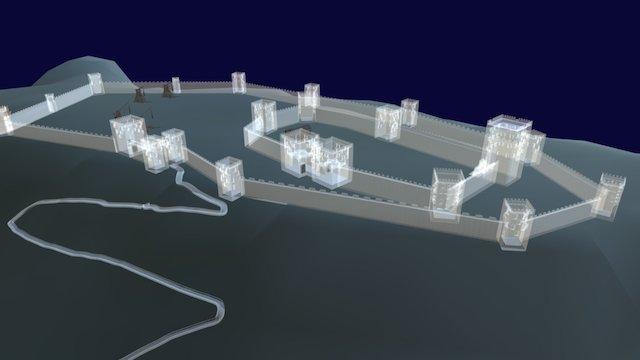 Castillo de Humilladero 3D Model